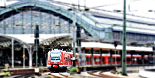 odjezd vlaku