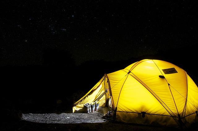 noční táboření