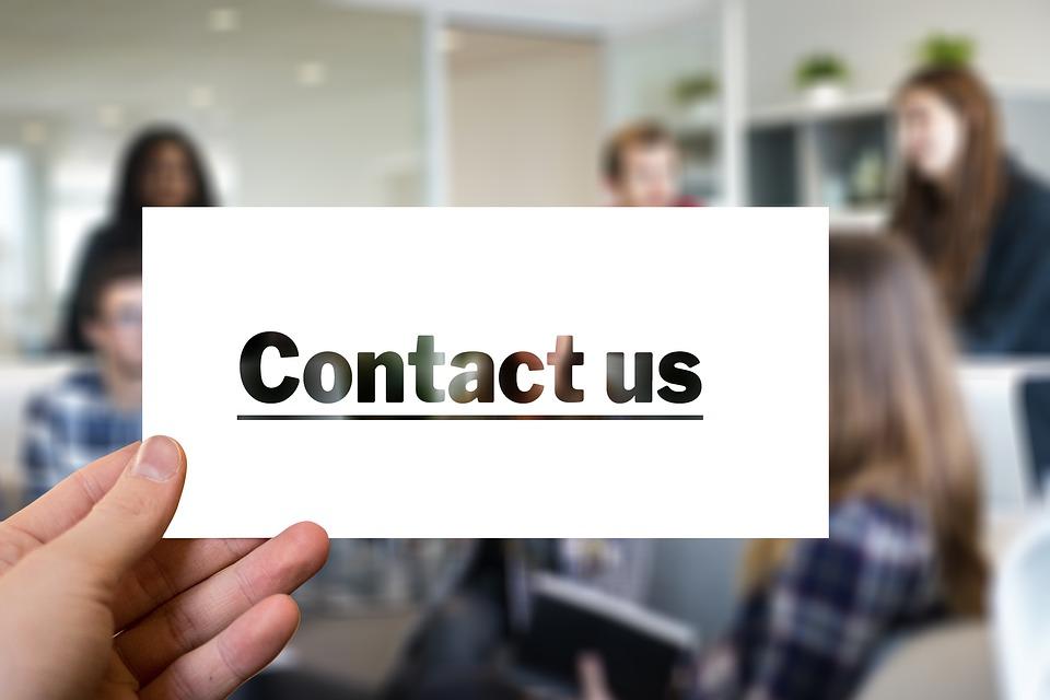 kontakt, kancelária
