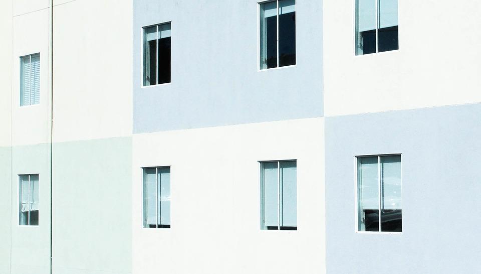 okná, bytovka